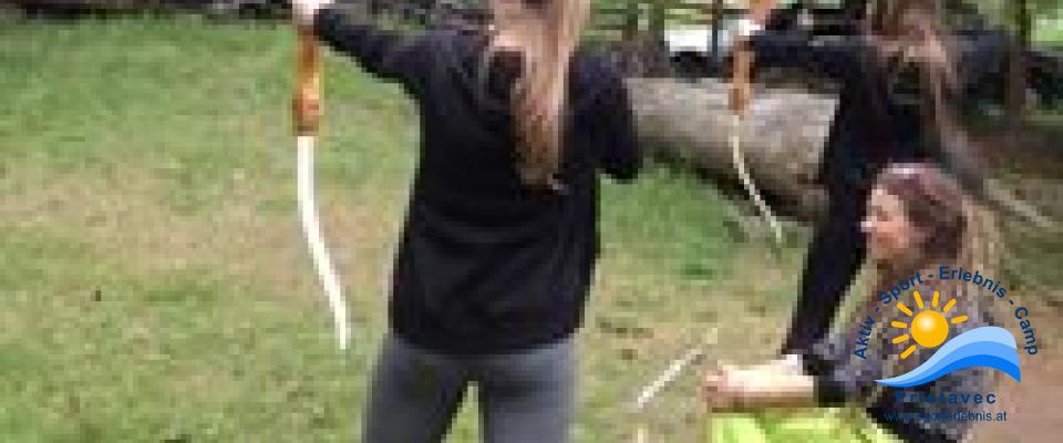 Pfeil und Bogenschießen