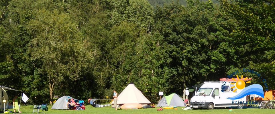 Naturbelassener Campingplatz