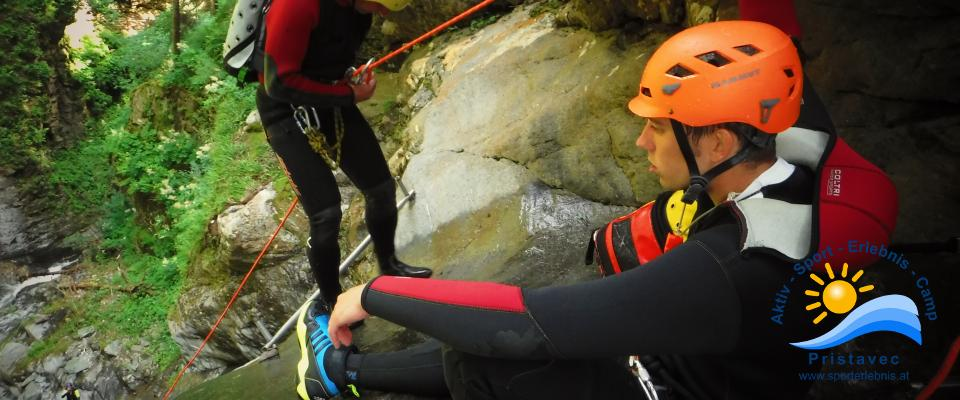 Canyoning Wunzen