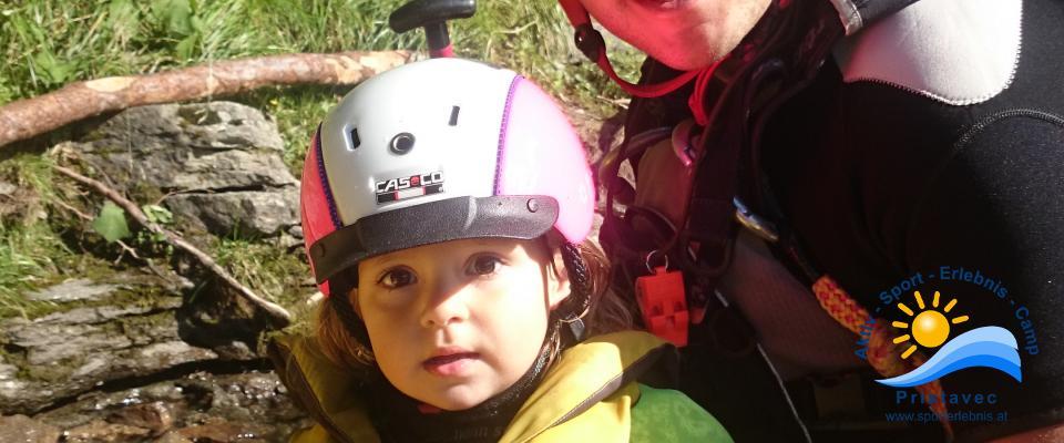 Rafting ein Toller Familienausflug auf der Möll