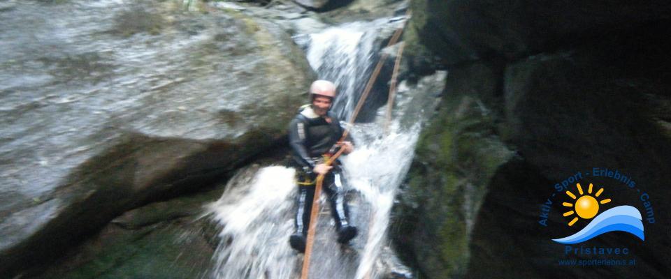 Canyoning Sportiv
