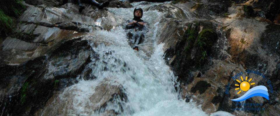 Canyoning Easy - Rutsche