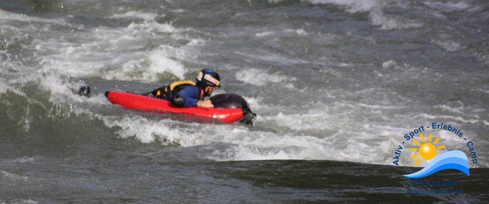 Rafting Wildwasserarena Mölltal