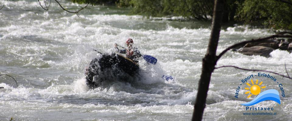Wildwasser-Arena Mölltal Rafting
