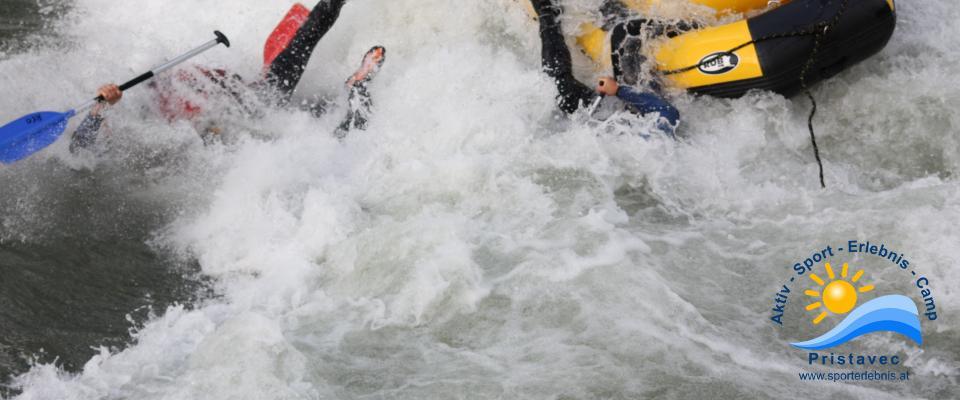 Rafting mit dem Miniraft