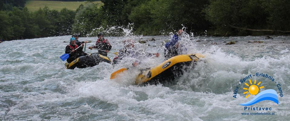 Rafting in Kärnten