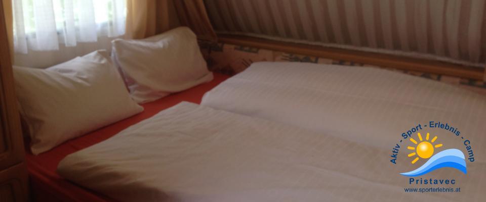 Wohnwagen Doppelschlafzimmer